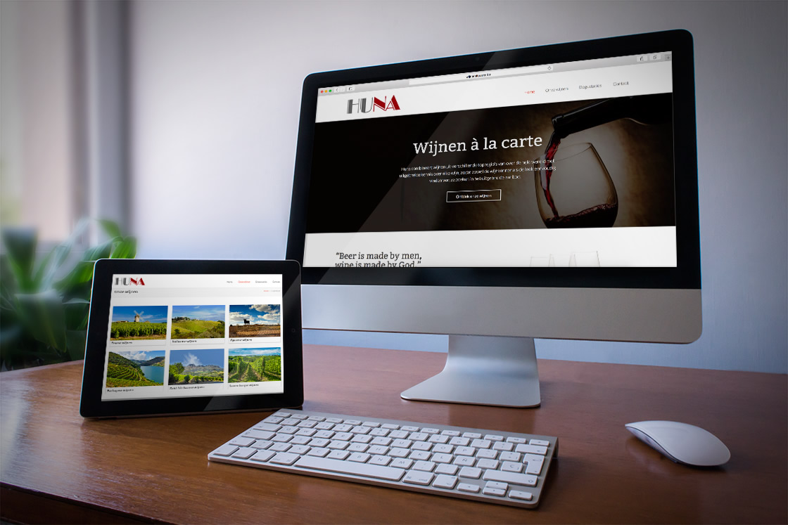 Responsive website met CMS