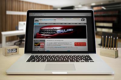 Voor Group Cé te Hasselt-Kermt werd een website ontwikkeld voor hun afdeling aan car cleaning en reinigingsproducten