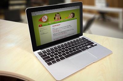 Website voor kinesistenpraktijk De Blokkendoos te Herent
