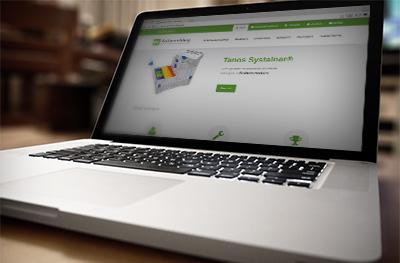 Responsive website met een ruim aanbod aan professionele bedrijfswageninrichting