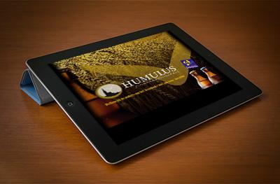 Website met CMS systeem voor dorpsbrouwerij Humulus te Arendonk