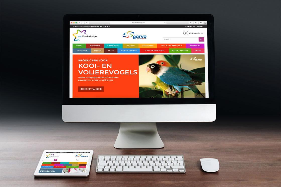 Responsive webshop in Prestashop